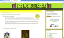 The Lost Bookshelf Homepage