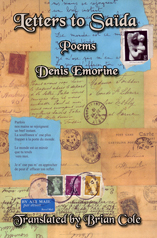 Letters to Saïda Poems by Denis Emorine